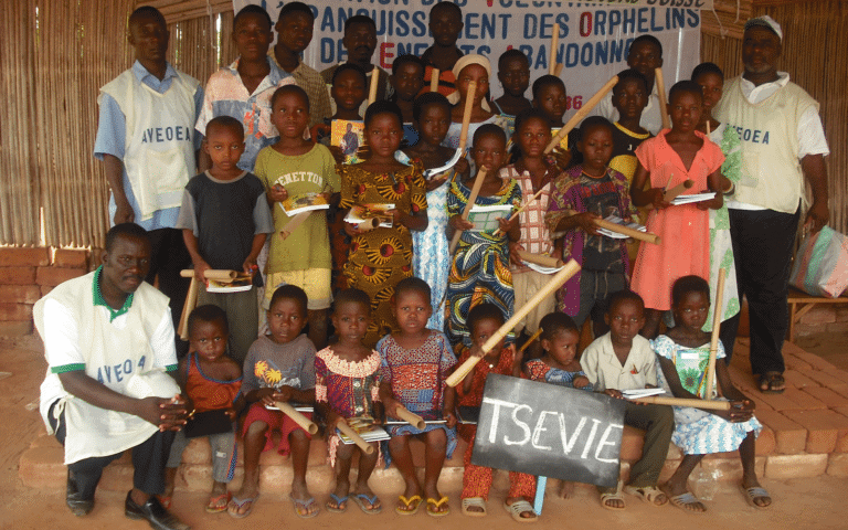 Group Photograph of the Beneficiaries of Tsévié-