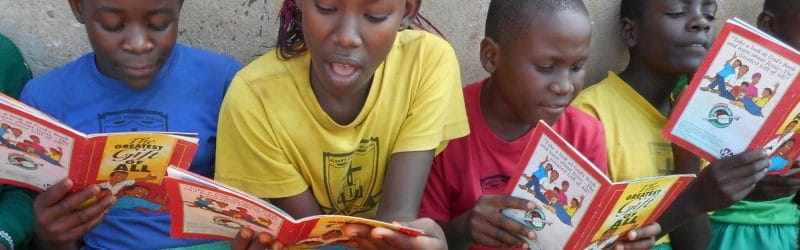Children in Awana club
