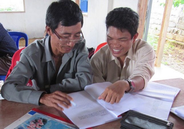 Working together in Myanmar.