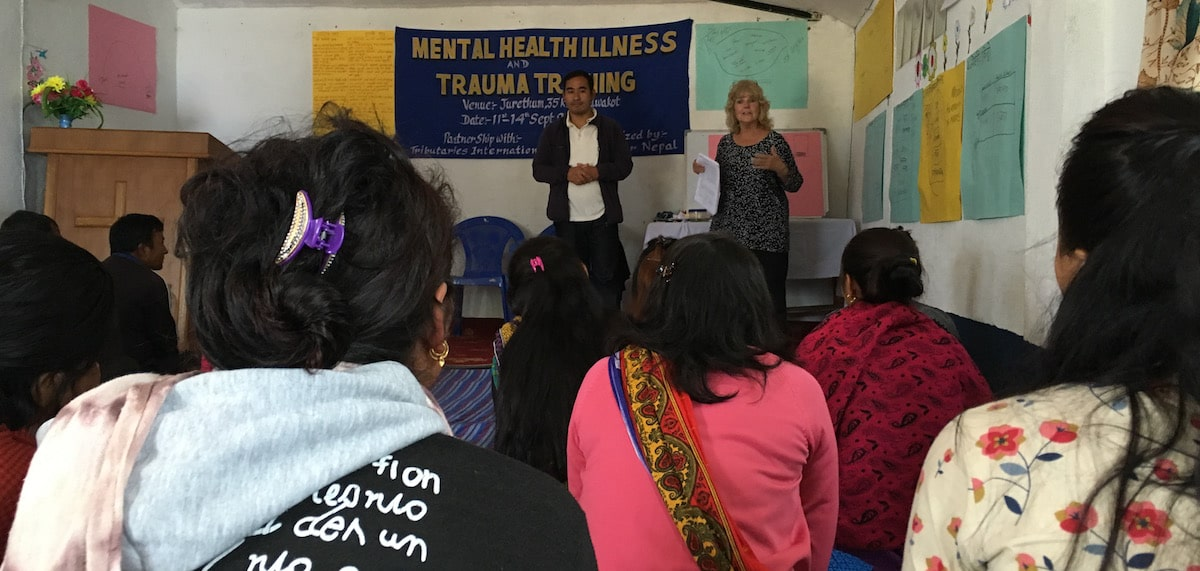 Mental Health Training in Nepal