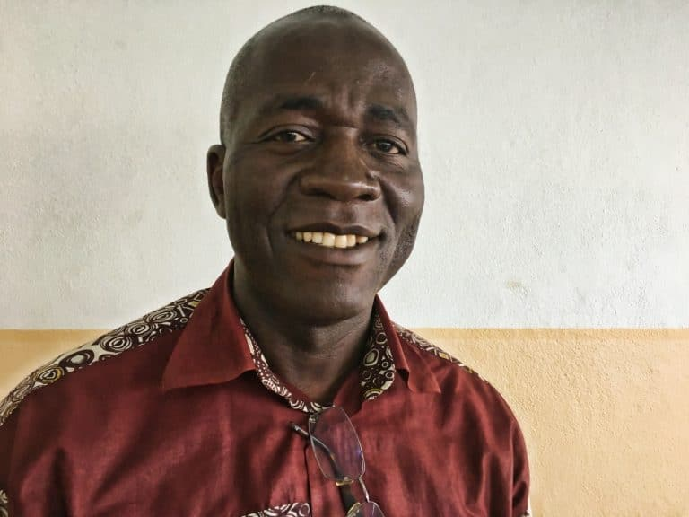 Andre helps people in Cameroon