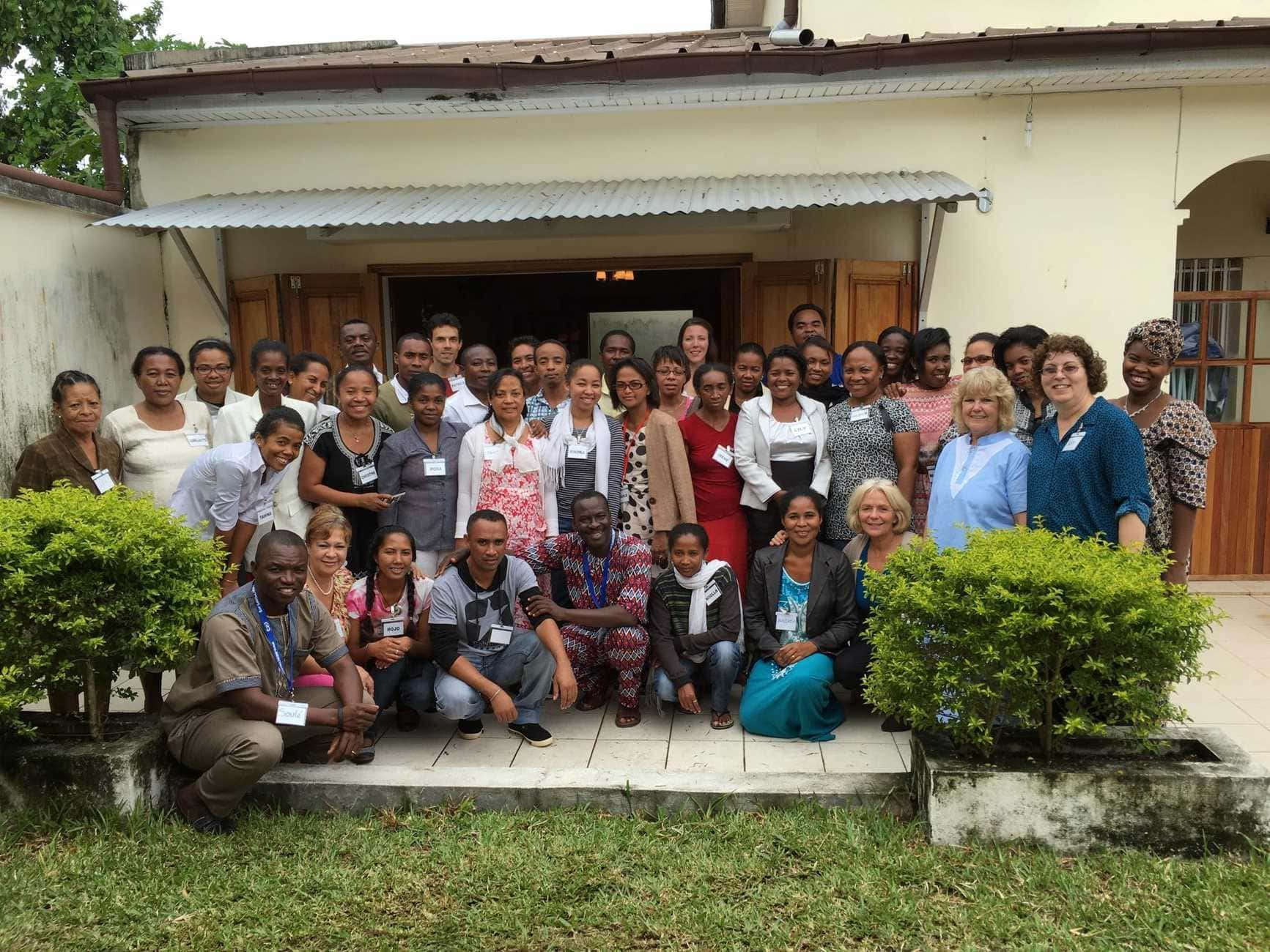 Group photo - participants in Madagascar