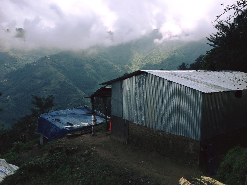 Home on mountain - Earthquake reconstruction project