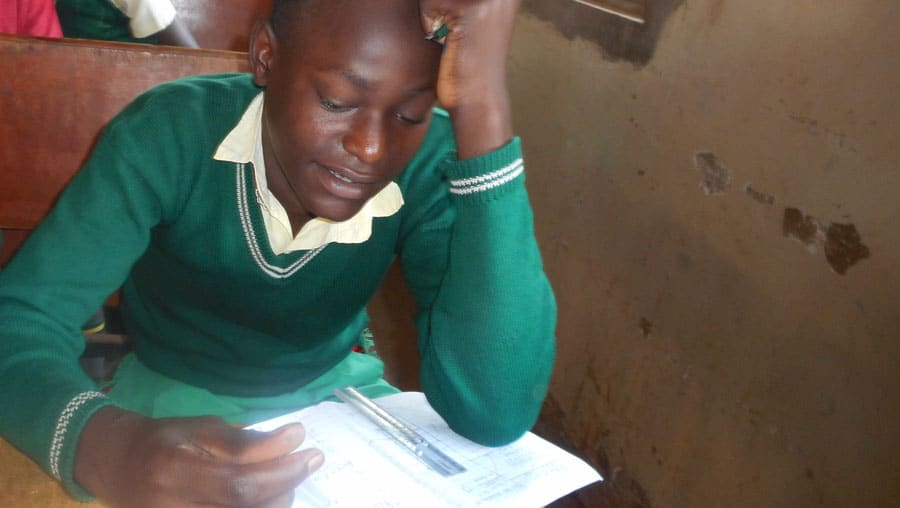 Student concentrates