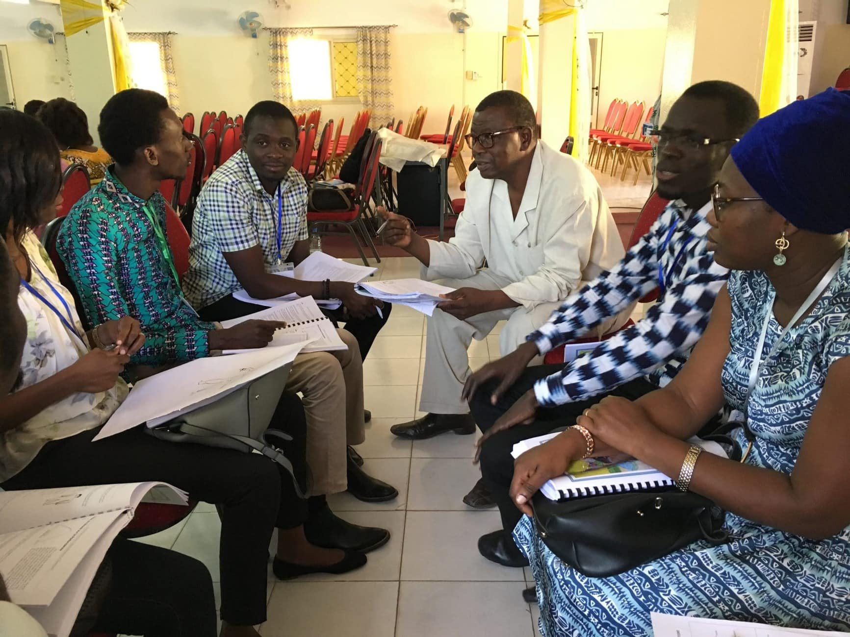 Senegal - Mercy Ships mental health training