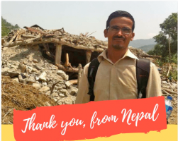 Thank You, from Nepal